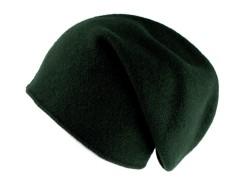 Gyapjú manó sapka - Sötétzöld Női kalap, sapka
