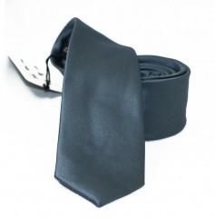 NM slim szatén nyakkendő - Grafit