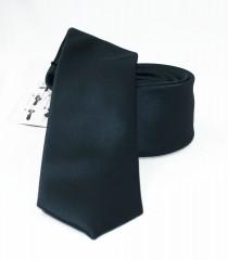 NM slim szatén nyakkendő - Fekete