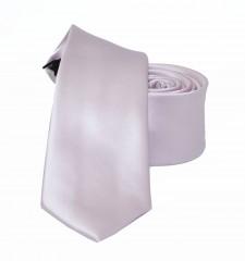 NM slim szatén nyakkendő - Púderrózsa