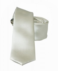 NM slim szatén nyakkendő - Ecru