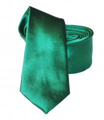 NM slim szatén nyakkendő - Fűzöld