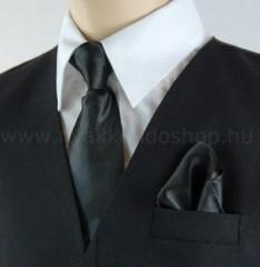 Gyerek nyakkendő szett - Fekete Szettek