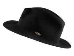 Nemezelt unisex kalap - Fekete Férfi kalap, sapka