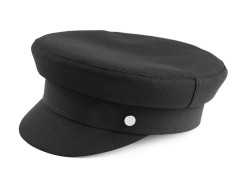 Kapitány gyapjú sapka - Fekete Férfi kalap, sapka