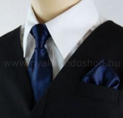 Gyerek nyakkendő szett - Sötétkék Szettek