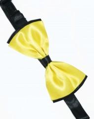 Csokornyakkendő - Sárga-fekete Csokornyakkendők