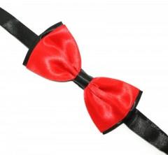 Csokornyakkendő - Piros-fekete Csokornyakkendők