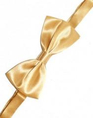 Gyerek szatén csokornyakkendő - Arany Csokornyakkendők