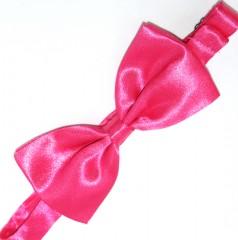 Gyerek szatén csokornyakkendő - Pink Csokornyakkendő