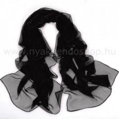 Női muszlin kendő - Fekete