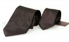 Goldenland apa-fia nyakkendő szett - Sötétbarna Apa-fia szettek