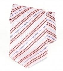Saint Michael selyem nyakkendő - Rózsaszín csíkos Selyem nyakkendők