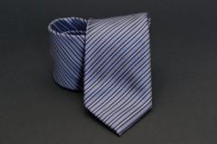 Prémium nyakkendő - Kék csíkos