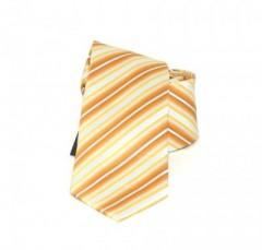 Goldenland gyerek nyakkendő - Narancs csíkos Gyerek nyakkendők