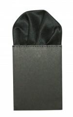 Díszzsebkendő - Fekete