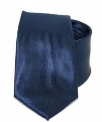 Goldenland slim nyakkendő - Sötétkék Egyszínű nyakkendők