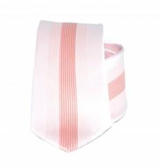 Goldenland slim nyakkendő - Púder-barack csíkos