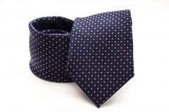 Prémium nyakkendő -  Kék-piros aprómintás