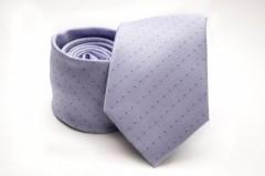 Prémium nyakkendő -  Halványlila aprópöttyös