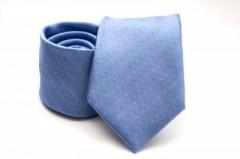 Prémium nyakkendő -  Világoskék aprópöttyös