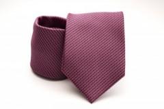 Prémium nyakkendő - Piros mintás Kockás nyakkendők