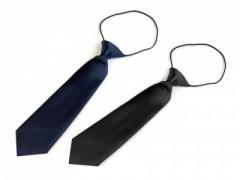 Gumis gyereknyakkendő - Fekete, Sötétkék Gyerek nyakkendők