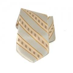 Saint Michael selyem nyakkendő - Drapp csíkos