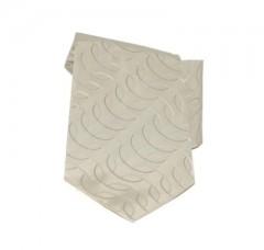 Saint Michael selyem nyakkendő - Halvány drapp mintás