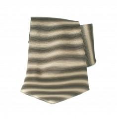 Saint Michael selyem nyakkendő - Khaky csíkos