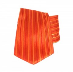 Saint Michael selyem nyakkendő - Narancs csíkos