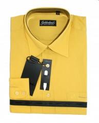 Goldenland hosszúujjú ing - Mustársárga Normál fazon