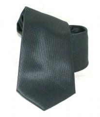Goldenland slim nyakkendő - Grafit szürke Egyszínű nyakkendők