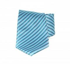Goldenland nyakkendő - Kék-türkiz csíkos