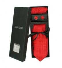 Marquis nyakkendő szett - Piros Nyakkendők