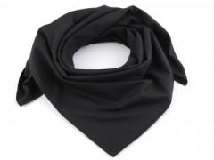 Pamut női kendő - Fekete