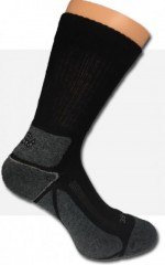 Komfort pamut zokni - Fekete-szürke Férfi zoknik, mamuszok