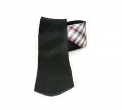 Classic prémium nyakkendő - Fekete kockás