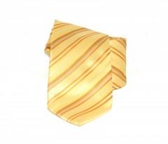 Classic prémium nyakkendő - Sárga csíkos Csíkos nyakkendő