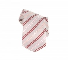 Classic prémium nyakkendő - Púder csíkos Csíkos nyakkendő