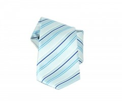 Classic prémium nyakkendő - Kék csíkos Csíkos nyakkendő