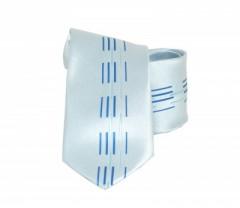 Classic prémium nyakkendő - Kék mintás