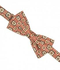 Zsorzsett szatén csokornyakkendő - Kockás Csokornyakkendők