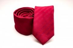 Prémium slim nyakkendő -   Meggypiros