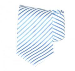 Goldenland nyakkendő - Kék-fehér csíkos Csíkos nyakkendők