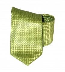 Classic prémium nyakkendő - Almazöld pöttyös Aprómintás nyakkendők