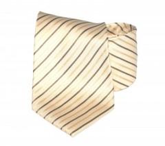 Goldenland nyakkendő - Arany-barna csíkos