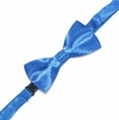 Gyerek szatén csokornyakkendő - Kék