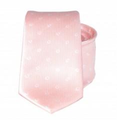 Goldenland slim nyakkendő - Púder pöttyös