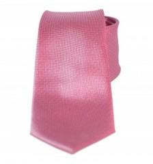 Goldenland slim nyakkendő - Pink-lazac Egyszínű nyakkendők